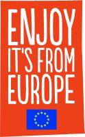 Logo Enjoy it's from Europe
