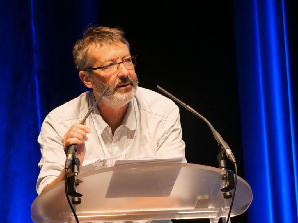 Pierre Vincens président d'AGPM Maïs semence au congrès du maïs 2019