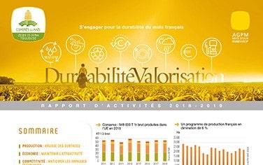 Rapport d'activités AGPM Maïs doux