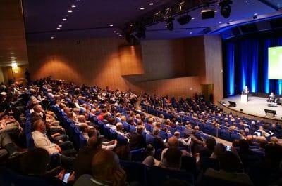 Salle de l'assemblée AGPM au centre des congrès de Toulouse