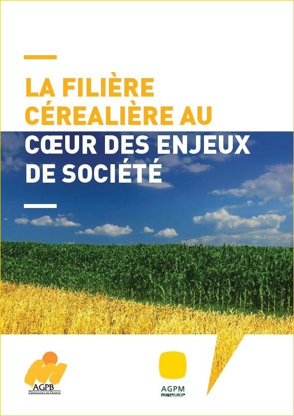 Brochure 8 pages qui décrit la stratégie des filières céréalières qui est au coeur des enjeux sociétaux