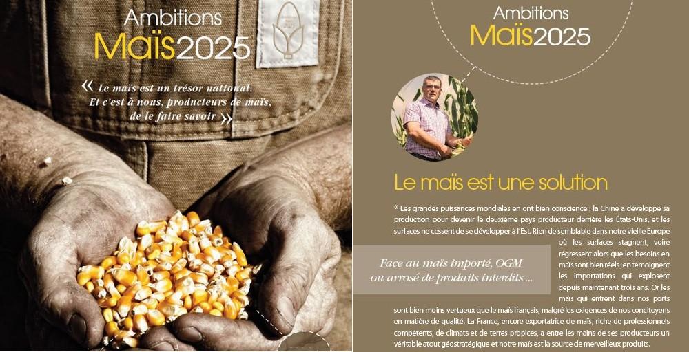 Ambitions maïs à 2025, plan stratégique AGPM