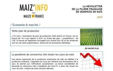 Maiz'Info avril 2020