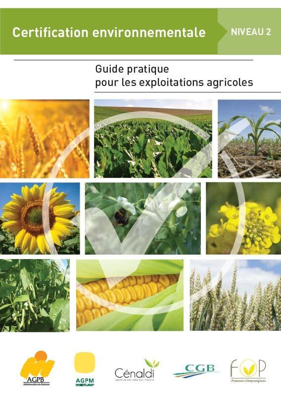 couverture du guide pratique certification envrionnementale