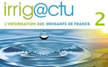 lettre information d'Irrigants de France Irrigactu 2