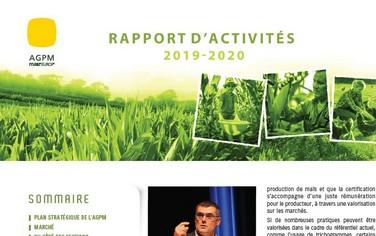 rapport activités AGPM 2020
