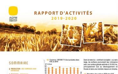 Rapport activité maïs doux 2020
