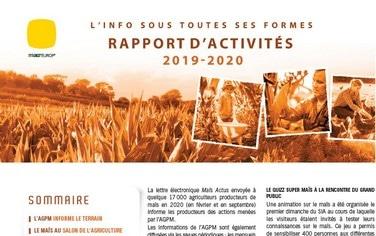 rapport acticités Maizeurop 2020