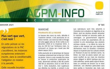 agpm info zeconomie 2021