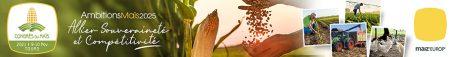 bandeau du congrès du maïs 2021 à Tours