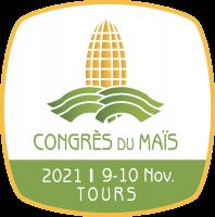 logo du congrès maïs 2021 à Tours